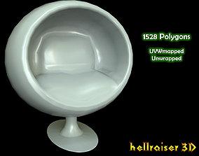 Ball Chair 3D asset