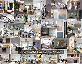 Scandinavian Style House Colllection 2 3D