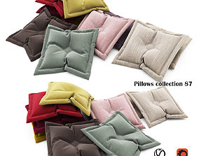 Pillows collection 87 3D model