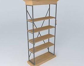 Shelves NATURALISTE houses the world 3D model