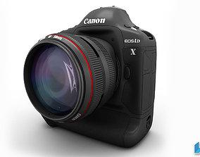 3D Canon Camera EOS-1D