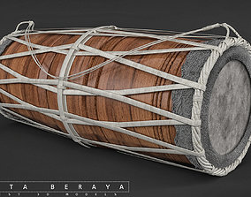 Traditional Drums 3D model