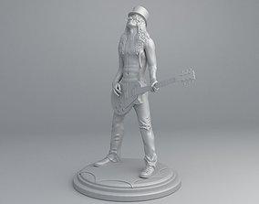 Slash - Saul Hudson Ready to print 3D