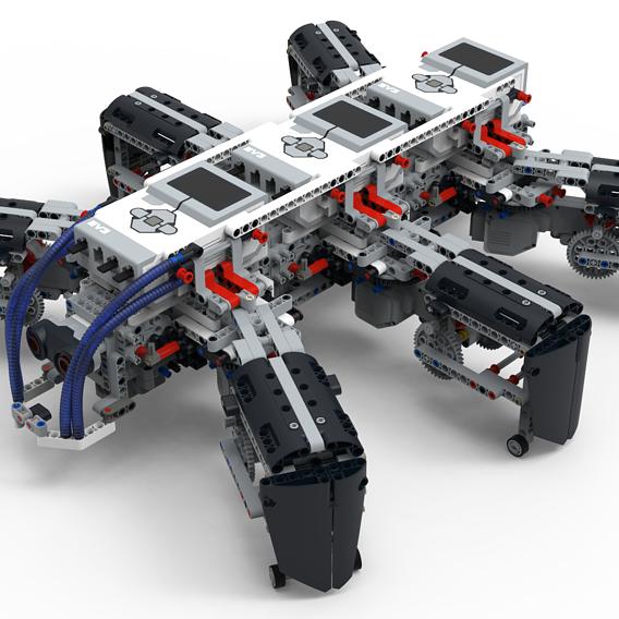 LEGO EV3 Legged robot