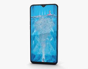 3D model Oppo F9 Twilight Blue