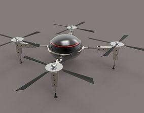camera 3D model Super Drone
