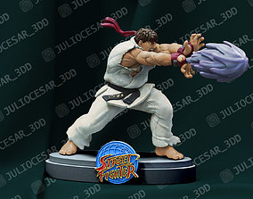 capcom Street fighter - Ryu 3D print model