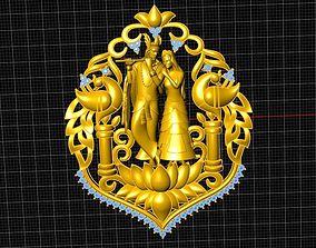 3D print model Raddha krishna