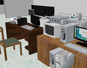 Computer store 3D model