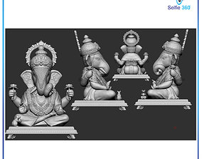 Ganesha Idol 3D print model