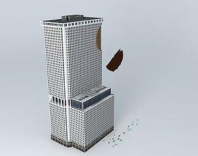 One New York Plaza Obruption 3D
