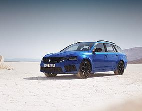 European station wagon unbranded vray 3D model
