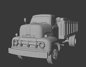 American 50s COE Truck 3D model VR / AR ready
