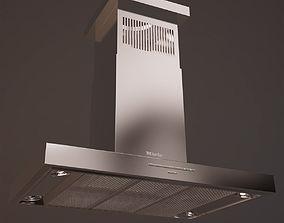 3D model Kitchen Hood Miele DA420V