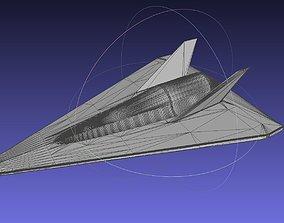 SSTO Spaceplane Design Printable Model spaceplane