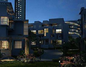 Residential building 032 3D model