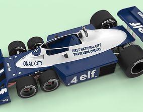 Tyrrell P34B six-wheeler Formula 1 3D
