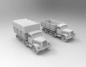 Maultier 3D print model