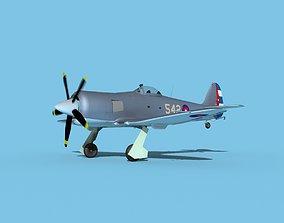 Hawker Sea Fury V16 AFC 3D