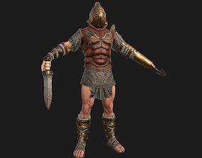 3D asset gladiator