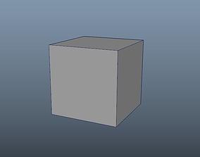 3D model Simple Cube 1x1