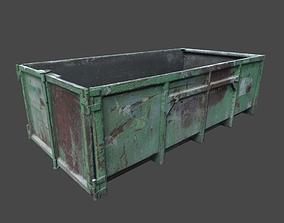 Dumpster 3D asset realtime metal