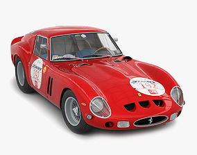 3D model Ferrari 250 GTO - 5111GT - No Engine