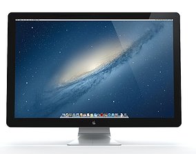 Apple Thunderbolt Display 3D model