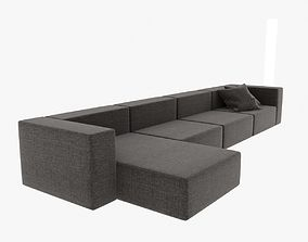3D Wall modular sofa living divani