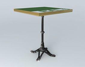 3D model BISTRO TABLE SQUARE ARDAMEZ Company