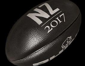 3D asset rugby ball 4-New Zeland