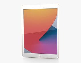 Apple iPad 10-2 2020 Cellular Gold 3D model