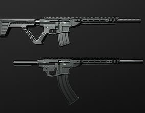3D model RIA VR80 Semi Auto Tactical Shotgun