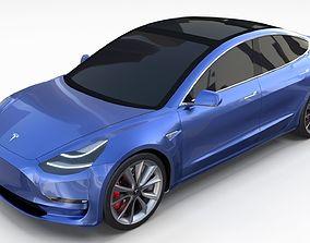 Tesla Model 3 3D