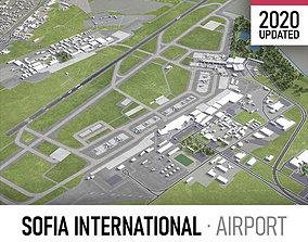 Sofia International Airport - SOF 3D asset