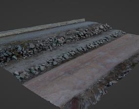 3D model Photoscan Rock 001 High Poly