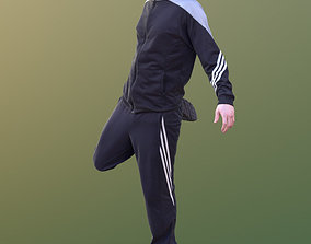 3D asset Andy 10463 - Stretching Man