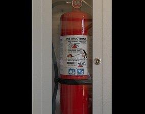 3D Fire Extinguisher preparedness