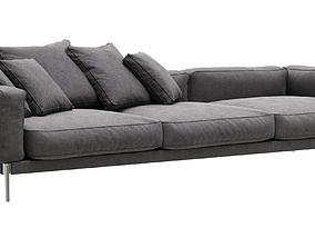 living Flexform Romeo sofa 3D model