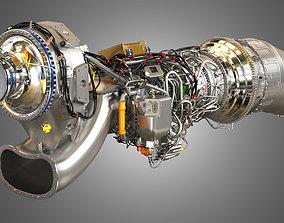 Europrop International - TP400-D6 Turboprop 3D model