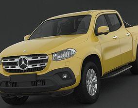 Mercedes Benz X Class Progressive 2018 3D model