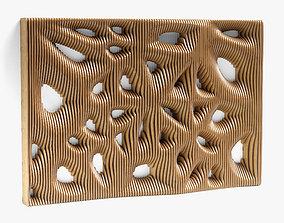 parametric wall 07 3D