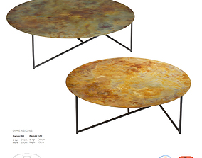 De Castelli Parsec Coffee Table 3D asset