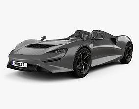3D model McLaren Elva 2021