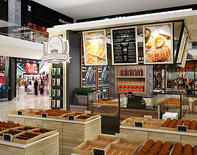 Bread Booth 3D