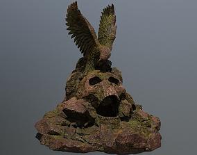 skull gate 3D asset realtime