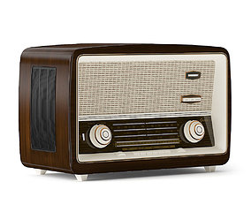 3D model fm Antique Radio