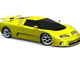 3D model Bugatti EB 110 SS