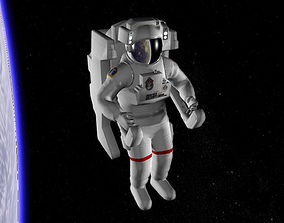 3D model Astronaut EMU
