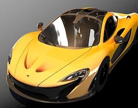 automotive Mclaren P1 3D Model